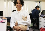 猫社員が活躍する会社とは?株式会社qnote 代表取締役・鶴田展之さん