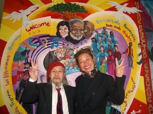 ジミー・ミリキタニとジャニス・ミリキタニ(2002年)