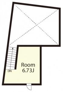 パセレーラ402上階間取図
