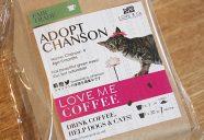 コーヒーを飲むことが保護猫や里親募集の支援に