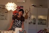 千駄木にOPENした川上麻衣子さんのお店には、ガラスとネコとスウェーデンが満載