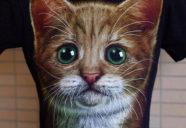 大阪のオバちゃんも真っ青!リアルすぎる猫T−イタ猫ファッションスナップ#01